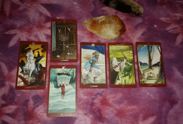 Deck Interview of Afro-Brazilian Tarot